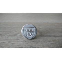 Grey earthenware coat ring